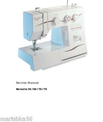 bernina bernette 50 60 70 75 service manual parts schematics in rh picclick com Clip Art User Guide User Manual