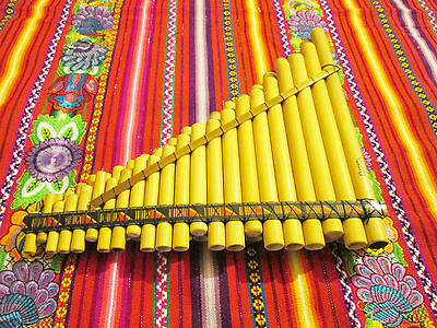 Chromatic Panflute 44 Pipes From Peru - Item In Usa - See Video