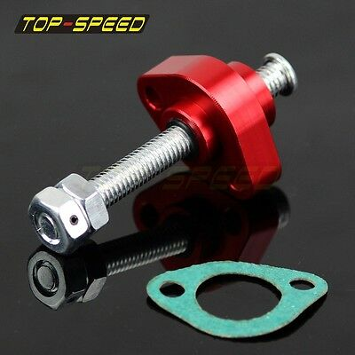Motorcycle Racing Manual Cam Timing Chain Tensioner For HONDA XR650R 2000-Up Red