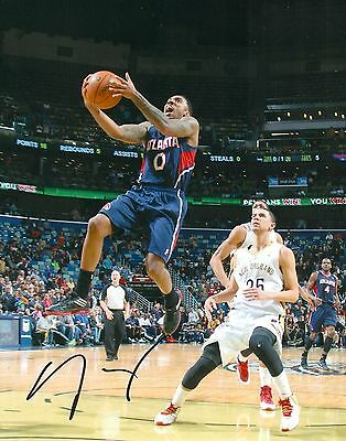 Jeff Teague Signed Atlanta Hawks 11x14 Photo With Coa Autographs-original
