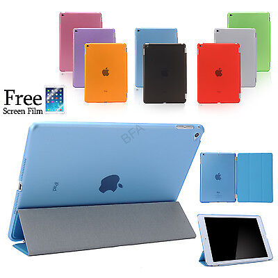 Smart Cover and Hard Back Case for Apple iPad Air 2 1 iPad mini iPad 4 3 2 Pro