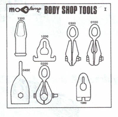 MO Clamp 5011 Tool Board Only - With Hooks