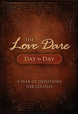 The Love Dare Day by Day Devotions Couples Alex Kendrick (Hardcover) BRAND NEW