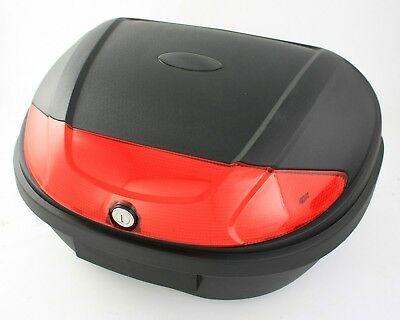 New Motorcycle Extra Large Top Box 52L Universal Fitting Luggage Box