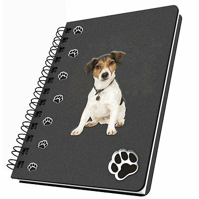 Got Yo Gifts Lined Spiral Dog Notebook Journal NEW Jack Russell Terrier
