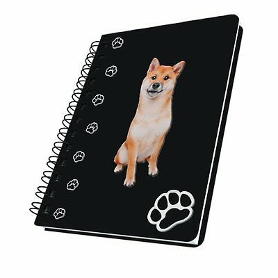 Got Yo Gifts Lined Dog Notebook Journal NEW Shiba Inu