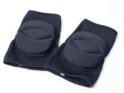 1 Pair Knee Pads For Dance Gym All Sports Black Protector Pads - Size: S and M