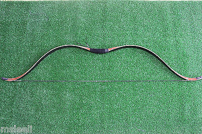 40 LB High-class Handmade Laminated Long Bow Recurve bow For Archery Hunting