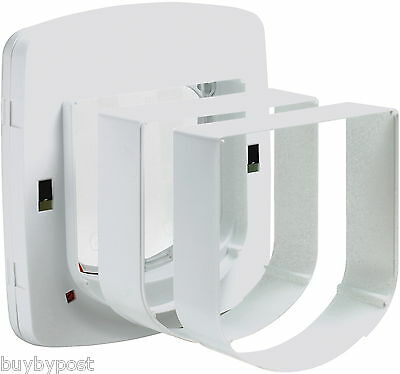 Cat Flap in Wall Staywell Petsafe 310 White Tunnel Extensions Fits 300 400 500