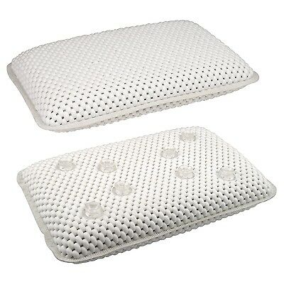 Luxury Bath & Spa Pillow With Suction Cups