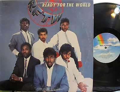 "Ready for the World  (RFTW) (MCA 5594) (with ""Oh Sheila"") ('85)"