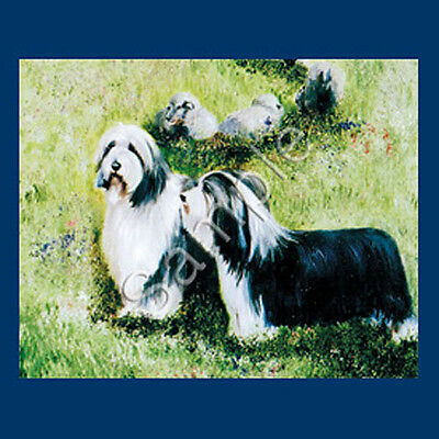 Best Friends Ruth Maystead List Pad & Pencil NEW Bearded Collie