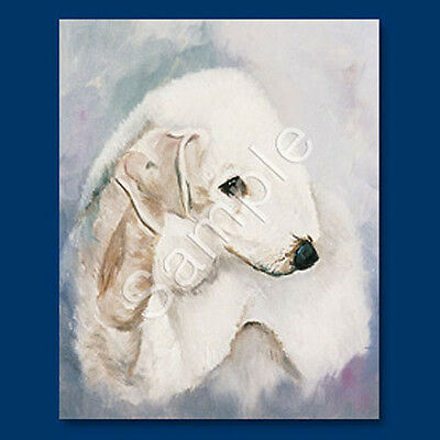 Best Friends Ruth Maystead List Pad & Pencil NEW Bedlington Terrier