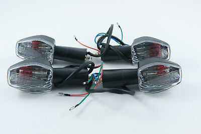 Front and rear indicators complete set of four suitable for Honda CBR 125 2005