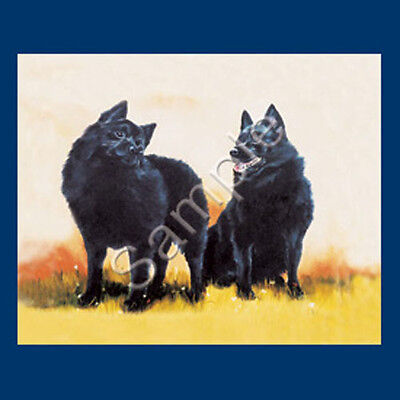 Best Friends Ruth Maystead List Pad & Pencil NEW Schipperke