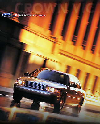 2000 Ford Crown Victoria sedan new vehicle brochure