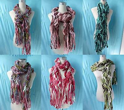 *US SELLER* lot of 10 wholesale thick knit wrap scarf winter fall neck warmer