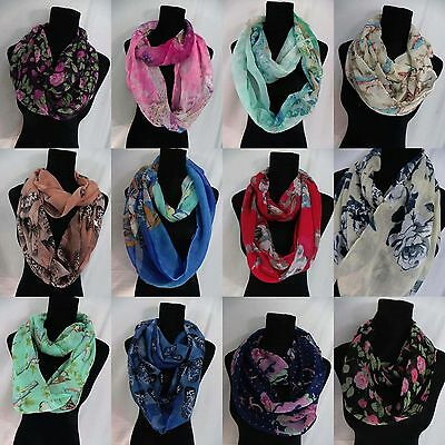 *US SELLER*10pcs wholesale lot fashion women eternity infinity fashion scarf