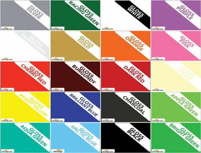 "Ceramic Wall Tile Stickers 6""Sq Bathroom Kitchen Transfer 20 Colours Multi-packs"