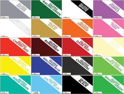 "Ceramic Wall Tile Transfer Stickers 6""x 6"" Bathroom Kitchen 20 Colours Multipack"