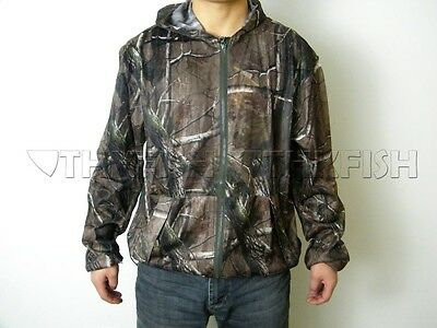 Camo Light Summer Camouflage Hunting Clothing Fishing Breathable Jackets