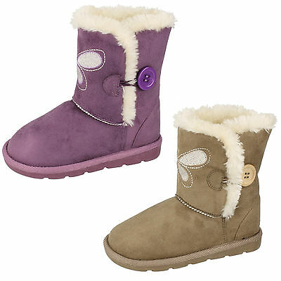 Wholesale Girls Boots 18 Pairs Sizes 6-12  H4099
