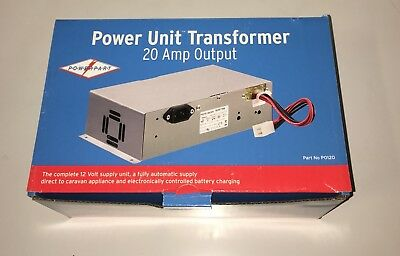 CARAVAN / MOTORHOME- 20 Amp Transformer / Battery Charger – PS276-1-BCSM - PO120