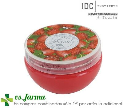 Idc Institute Scented Fruits Fresa Crema Corporal Perfumada 220 Ml Body Cream