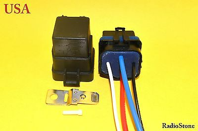 1x Waterproof integrated 12V 40A 4 pin 4 wire auto relay& holder  USA Seller!!