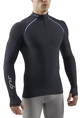 SUB Sports COLD Freeze Men's Semi Compression  L/S Thermal Layer with zip