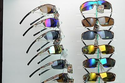 1 CASE of 12 Verex Real camo Sunglasses 58002 and 12 free microfiber bags