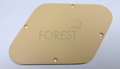 GIBSON Les Paul control back cover plate Cream, fits Gibson Les Paul USA