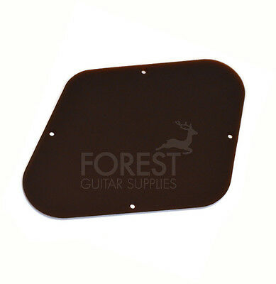 GIBSON Les Paul control back cover plate Black, fits Gibson Les Paul USA
