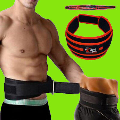 CHZL PRO Deluxe Weight Lifting BodyBuilding Back Support Gym Belt - Large
