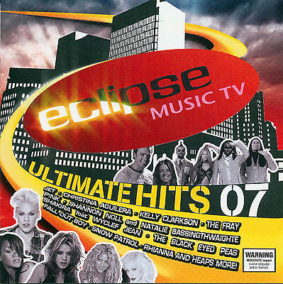 Eclipse Music TV - Ultimate Hits 07 - Various Artists  *** BRAND NEW 2CD SET ***