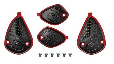 Sidi Mx Crossfire 2 Boots Motocross Replacement Black Red Ankle Support Covers