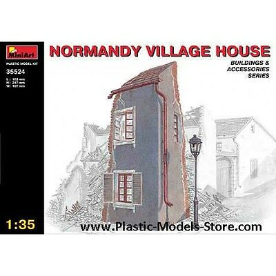 Normandy Village House Building For Diorama 1/35 Miniart 35524