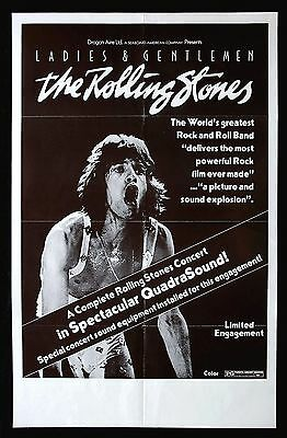 0343  Vintage Music Poster Art  The Rolling Stones  *FREE POSTERS