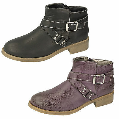 WHOLESALE Girls Ankle Boots / Sizes 10x3 / 16 Pairs / H5034