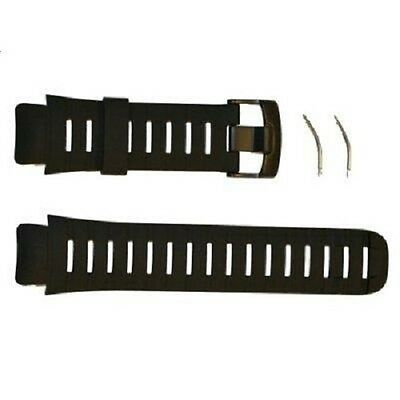 New! Suunto XLander Black Rubber Military Strap Replacement Kit - SS013706000