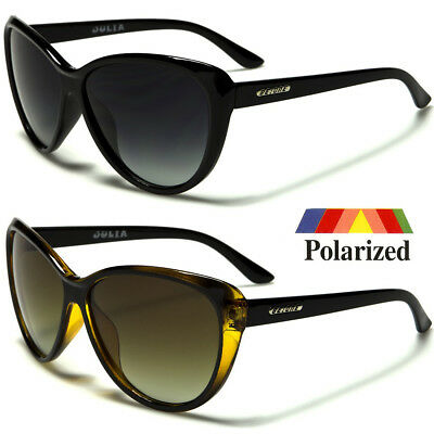 Black Cat Eye POLARIZED Sunglasses Retro Classic Vintage Design Women's Fashion