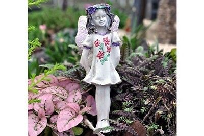 "3.25"" My Fairy Gardens Mini Figure Pick - Chloe - Resin Miniature Figurine Decor"