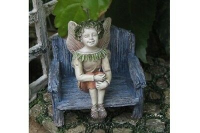 "2"" My Fairy Gardens Mini Figure ONLY - Clayton - Sitting Miniature Figurine"