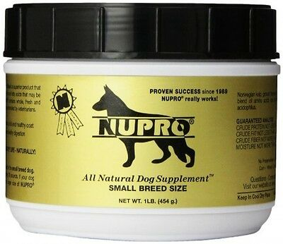 Nutri-Pet Research Nupro Dog Supplement, Small Breed, 1-Pound, New