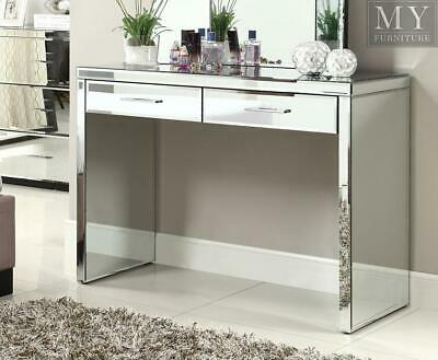 RIO Mirrored Console Hallway Dressing Table - Mirror Furniture