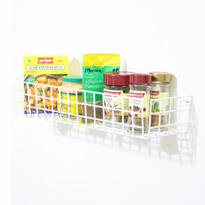 NEW Spice Rack 390mm Wall Mounted for Kitchen Cupboard Pantry