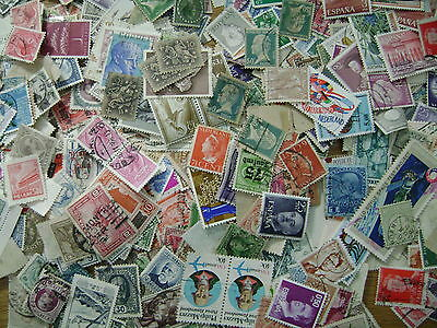 Rest of World Kiloware mix 50 grams off-paper stamps Free Post