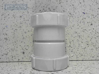 "50mm 52mm 55mm Joiner Coupling Compression Multifit 2"" Shower Urinal Drain"