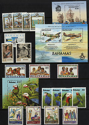 Bahamas - 1990 - Commemorative Sets/Sheets (complete) - Unmounted Mint/MNH