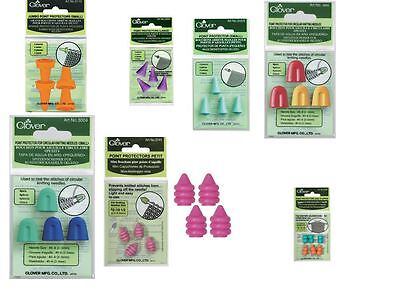 Clover Point Protectors - Seven Different Designs - DPN/Circular/Straight